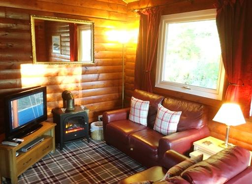Log Cabins Dunoon Scotland Pucks Glen Lodges Argyll